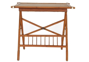 folding table in old english